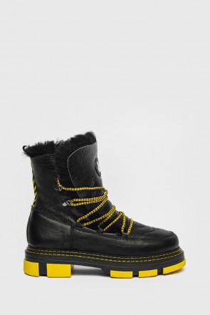 Ботинки Nila and Nila черные - H20v