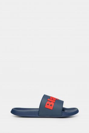 Шлепанцы Blauer USA синие - JAY01bl