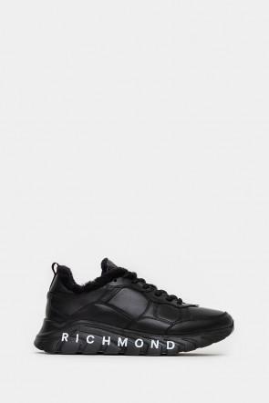 Женские кроссовки John Richmond черные - JR12367n
