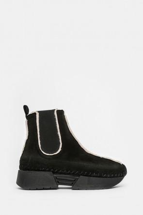 Ботинки Alex By Mercury черные - laila1