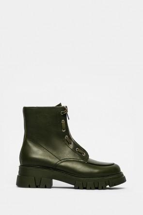 Ботинки Ash зеленые - lynch