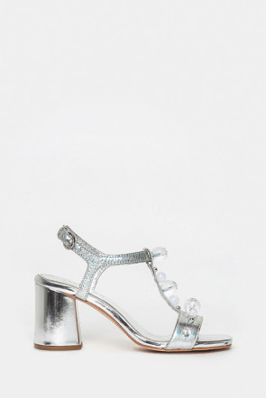 Босоножки Apepazza серебро - PTT04