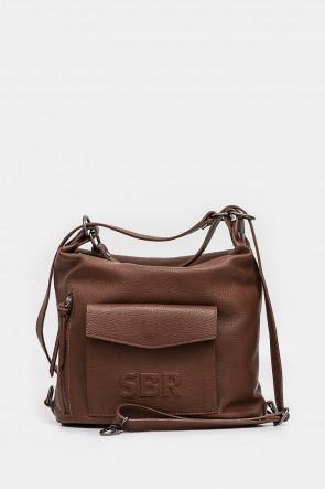 Женская сумка Sara Burglar коричневая - S1281r