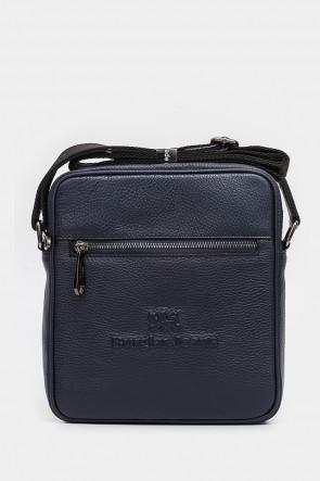 Мужская сумка Sara Burglar темно-синяя - SB1024bl