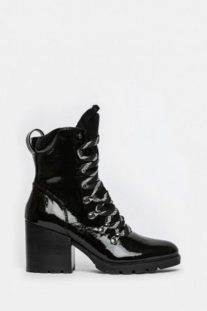 Ботинки Kendall and Kylie черные - spencer