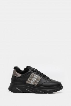 Женские кроссовки Stokton черные - ST420n