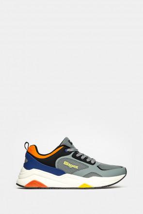 Кроссовки Blauer USA серые - tokgR