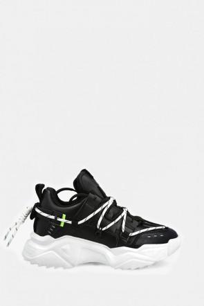 Кроссовки Uma Parker черные - UP340