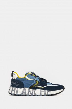 Мужские кроссовки Voile Blanche синие - VB4828