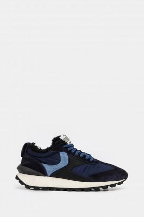 Мужские кроссовки Voile Blanche синие - VB6272bl