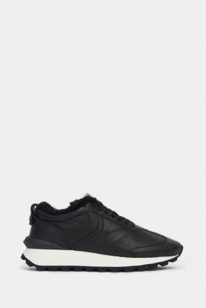 Мужские кроссовки Voile Blanche черные - VB6272n