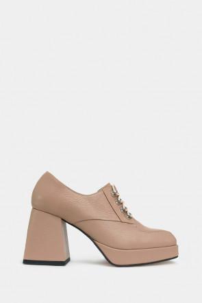 Женские туфли Via del Garda бежевые - VG35025r