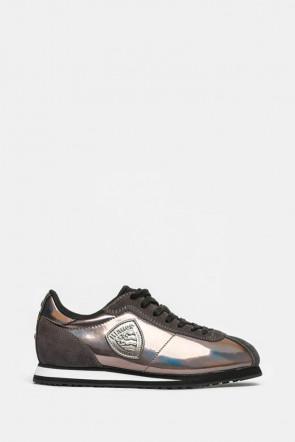 Кроссовки Blauer USA серебряные - yuma