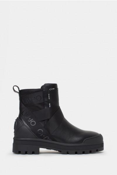 Женские ботинки Liu Jo черные - LJ1091r