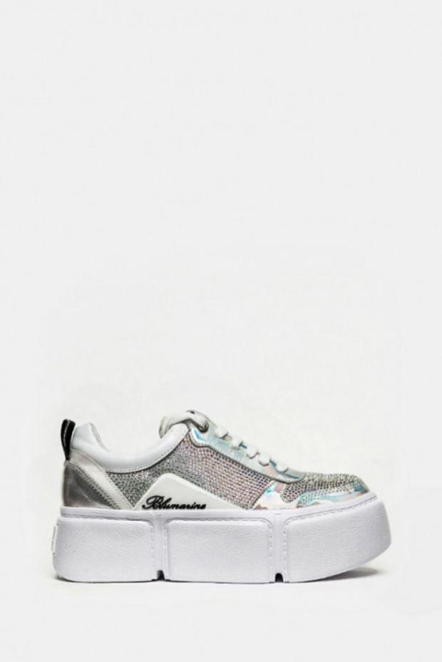 Кросівки Blumarine білі - 1113bl