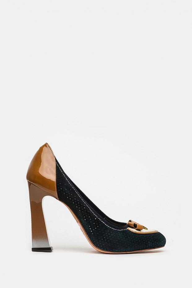 Туфлі Genuin Vivier сині - 1212