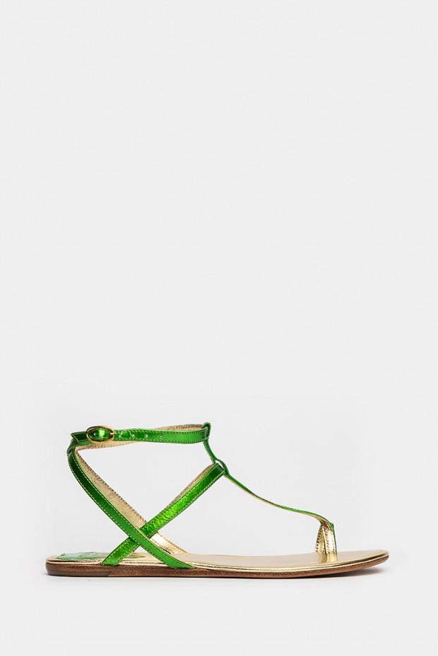 Босоніжки Vizali зелені - 1204