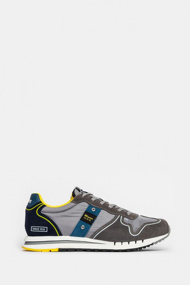 Кросівки Blauer USA сірі - quartzGR