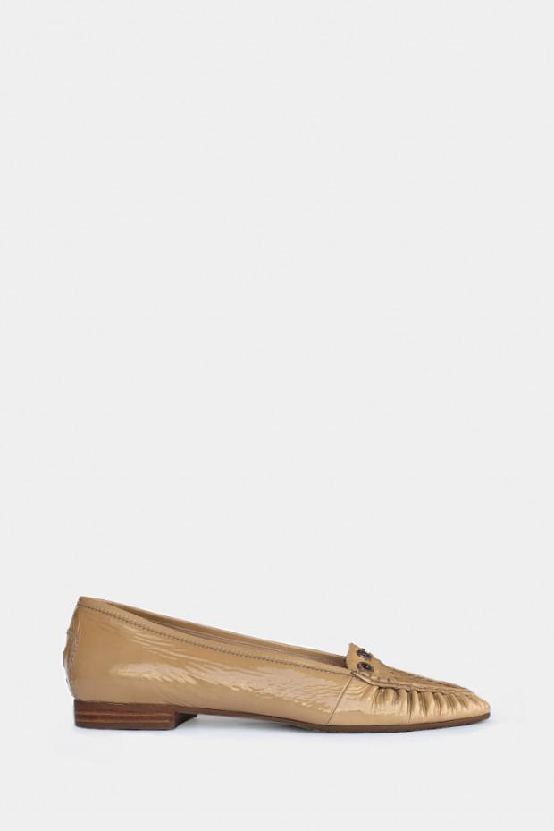 Жіночі туфлі Lara Manni бежеві - 2054b