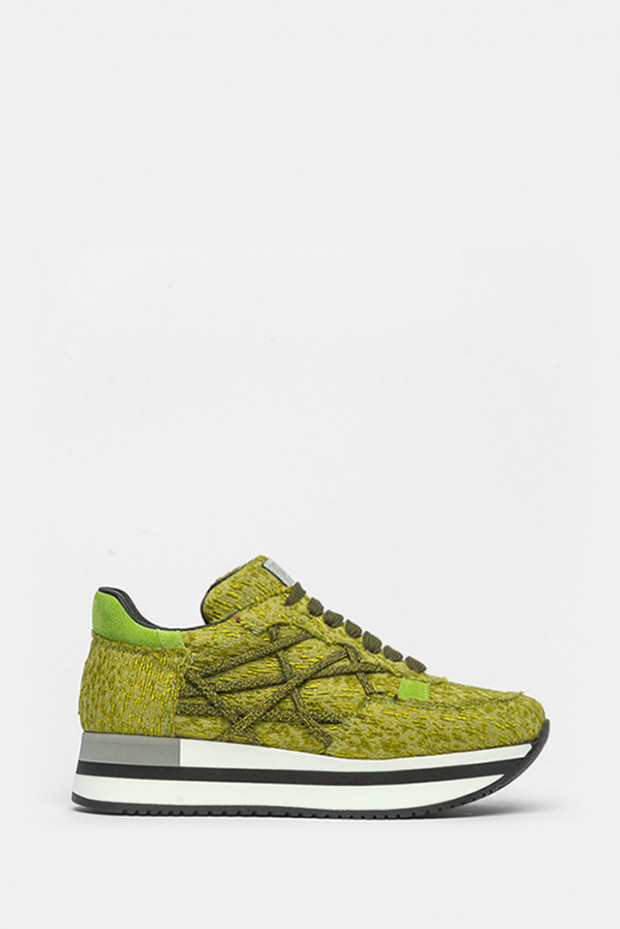 Кросівки L4K3 зелені - 214a