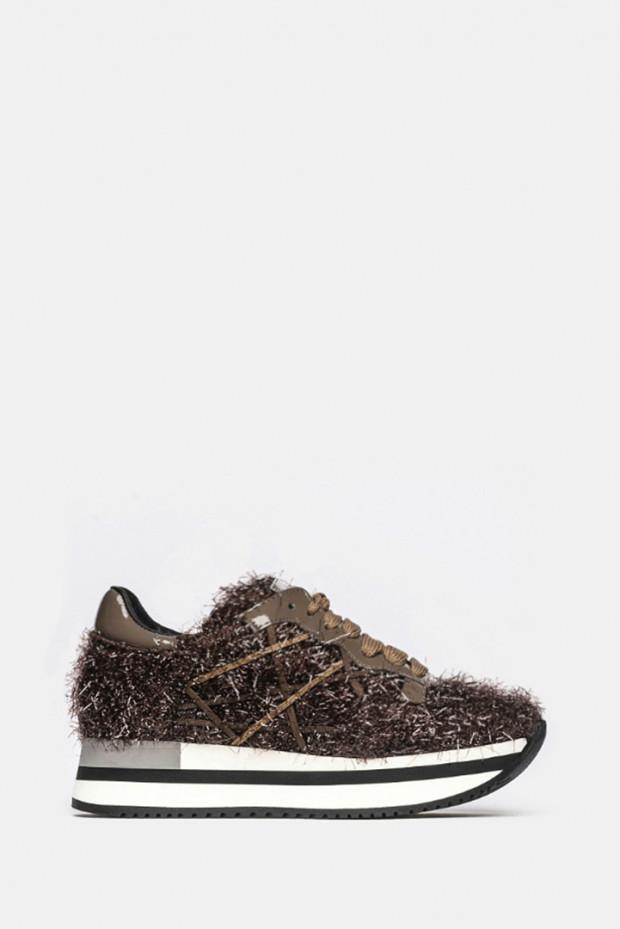 Кросівки L4K3 коричневі - 221a