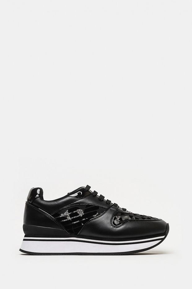 Кросівки Emporio Armani чорні - 3046n