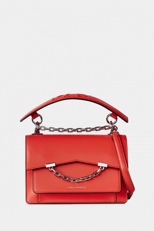 Сумка Karl Lagerfeld червона - 3067r