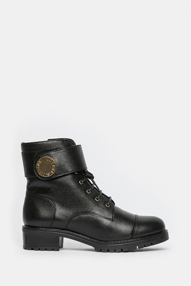 Черевики Emporio Armani чорні - 3131