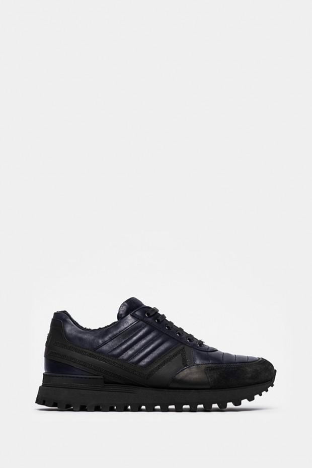 Кросівки Giampiero Nicola сині - 39366bl