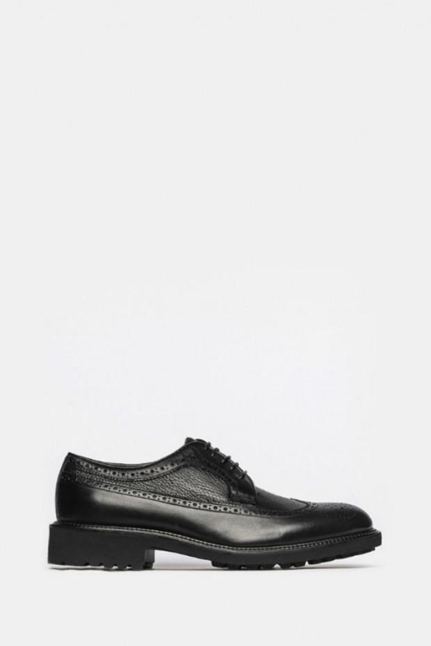 Туфлі Giampiero Nicola чорні - 39603