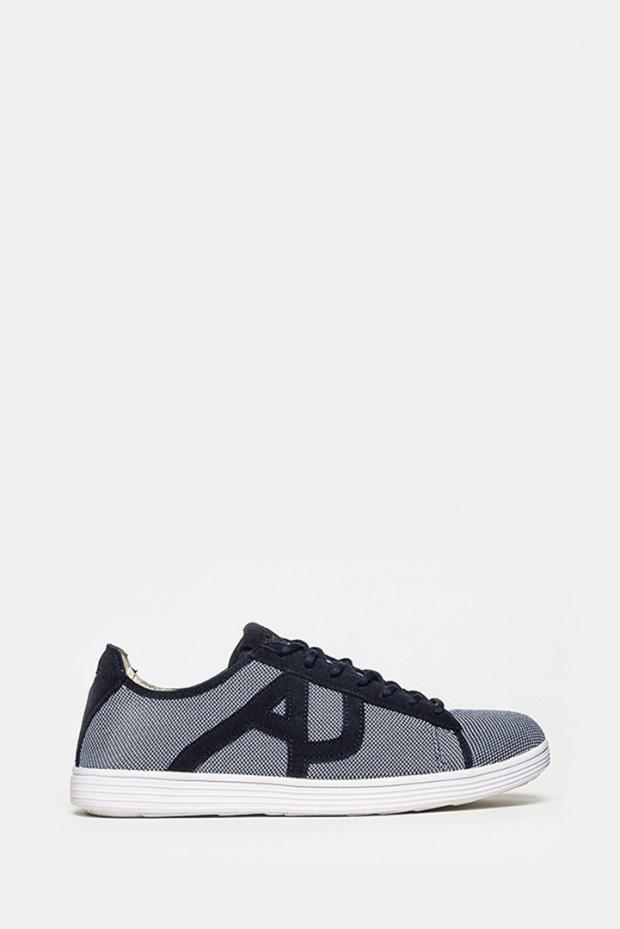 Кеди Armani jeans сині - 5068