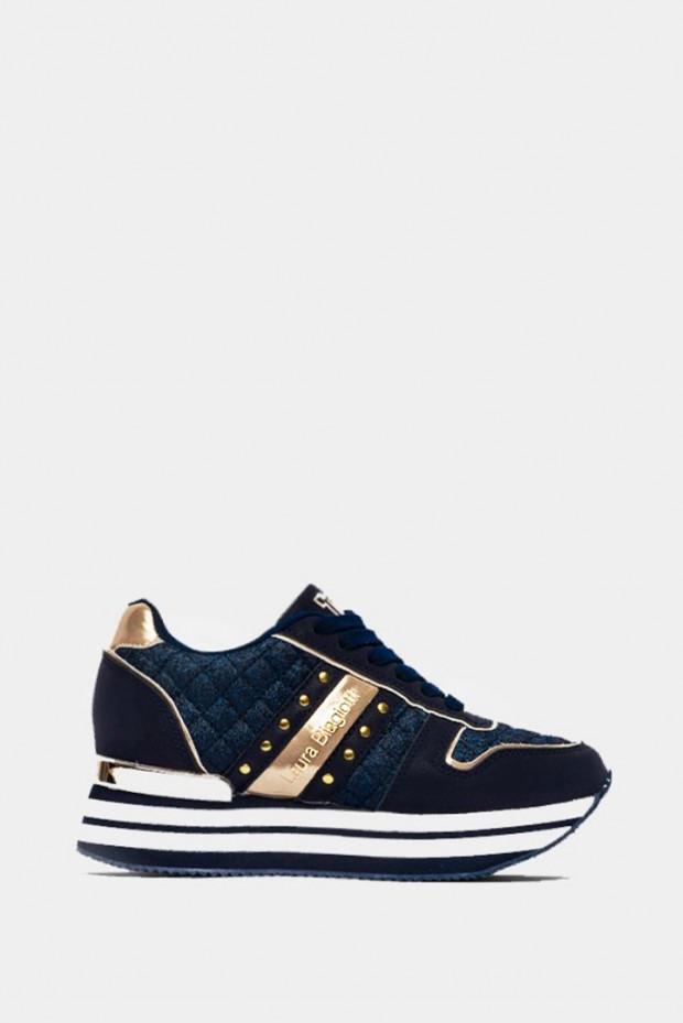Кросівки Laura Biagiotti сині - 6404bl