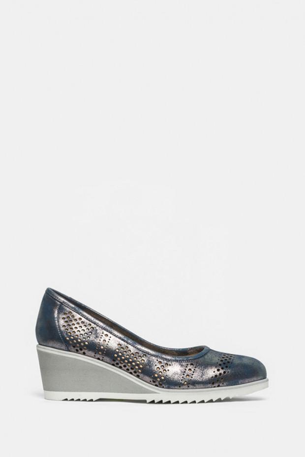 Туфлі Mot Cle блакитні - 7280