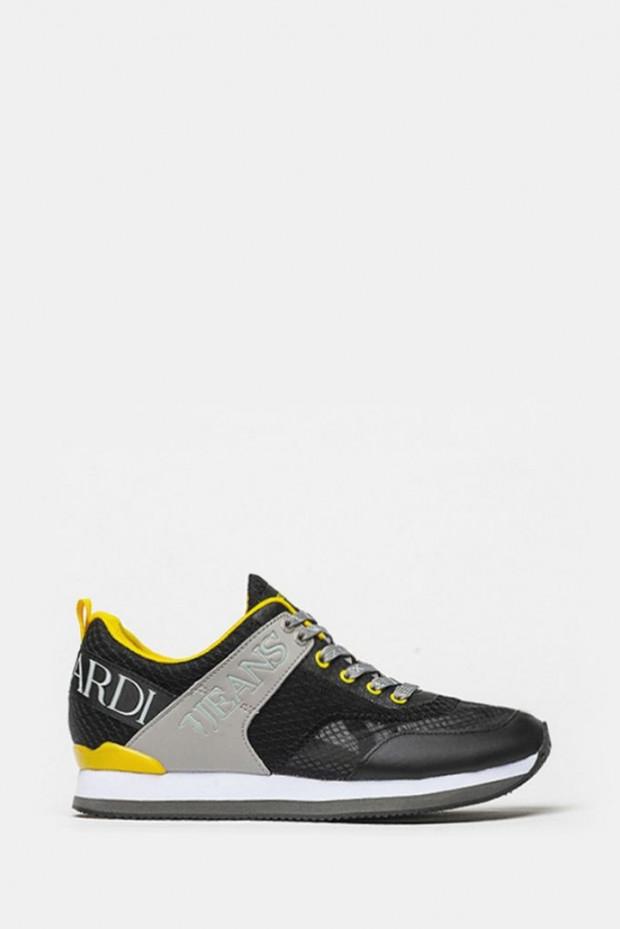 Кросівки Trussardi чорні - 77223