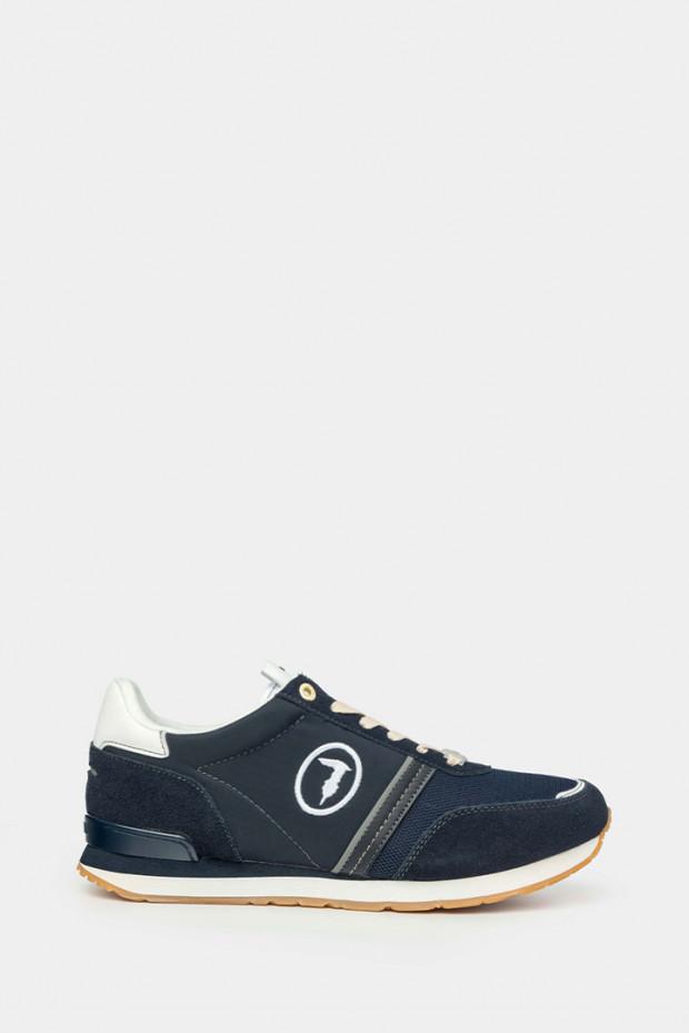 Кросівки Trussardi сині - 77342