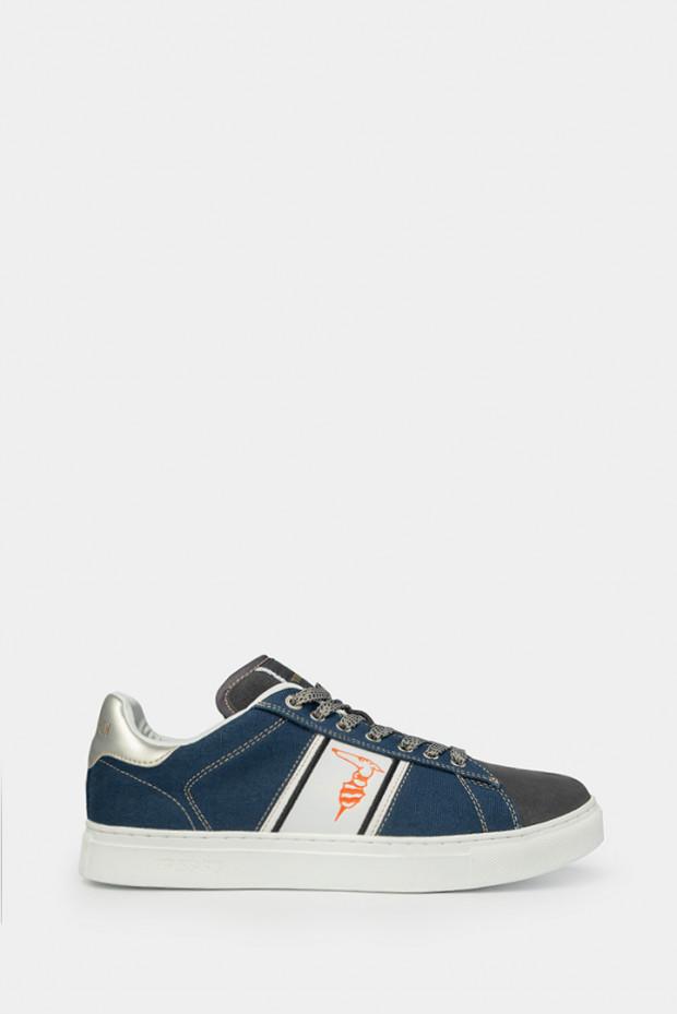 Кеди Trussardi сині - 77351