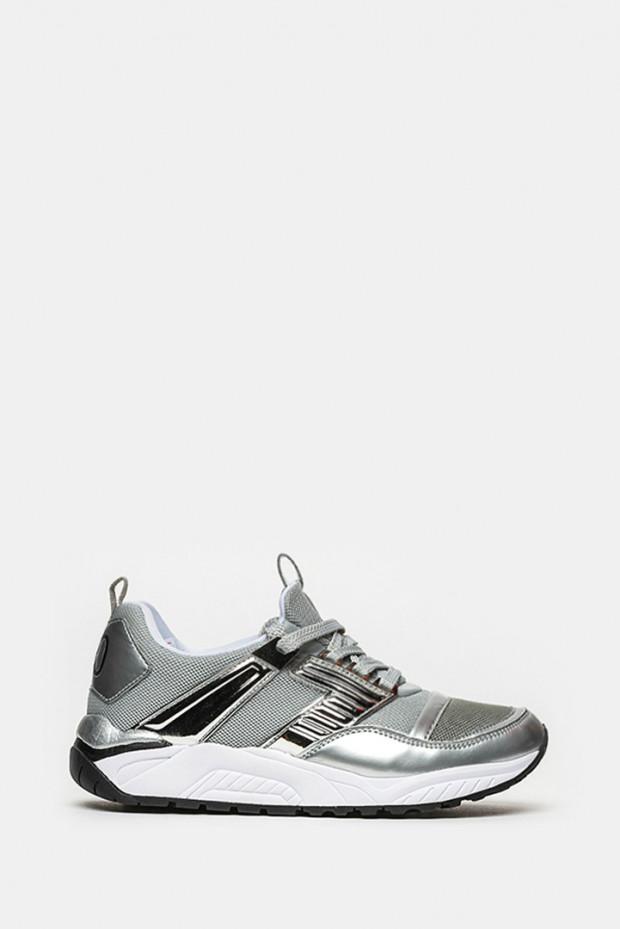 Кросівки Emporio Armani срібло - 8P268s