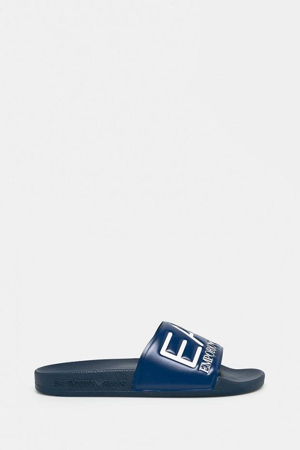 Шльопанці EA7 Emporio Armani сині - AJ001bl