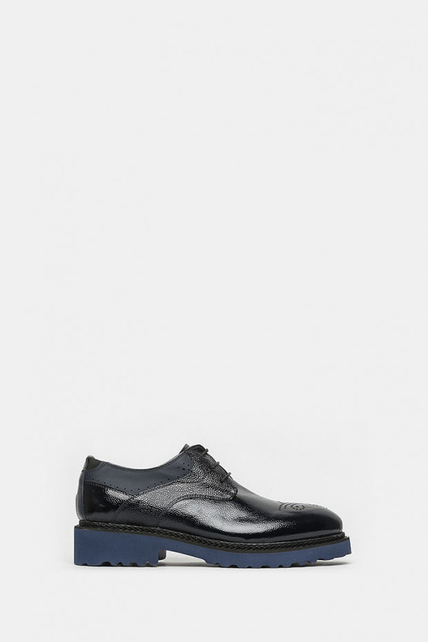 Туфлі LAB Milano сині - 30301