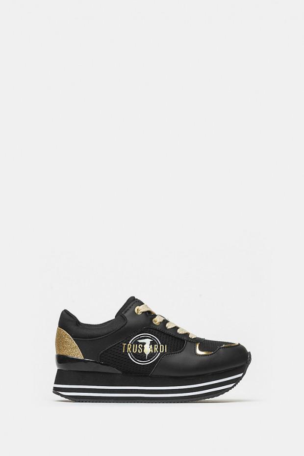 Кросівки Trussardi чорні - 79472n