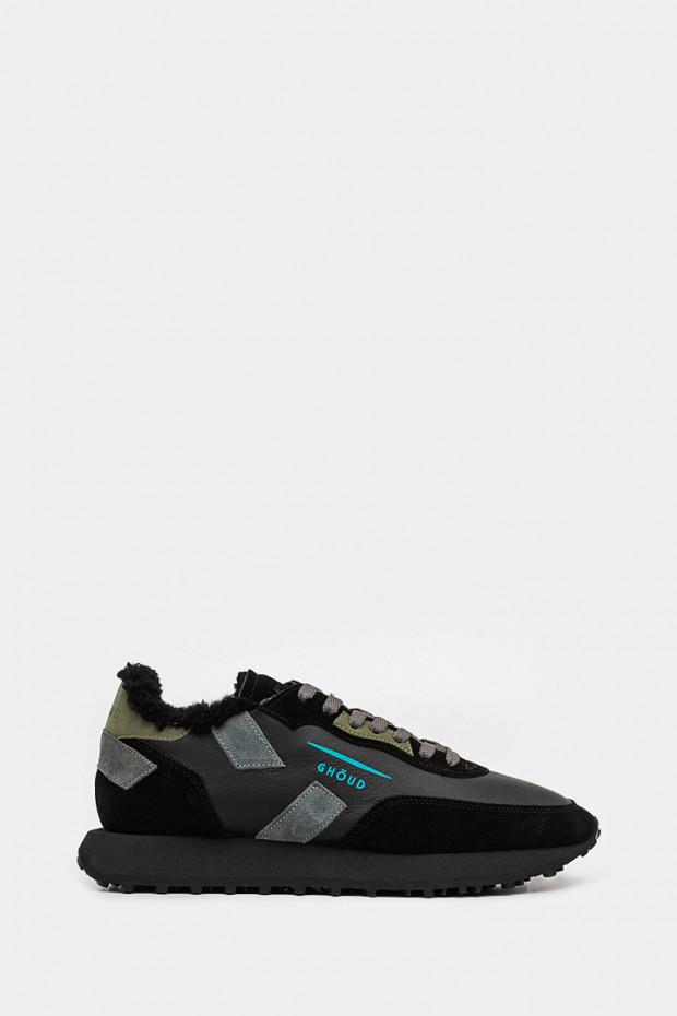 Чоловічі кросівки Ghoud чорні  - GHx19