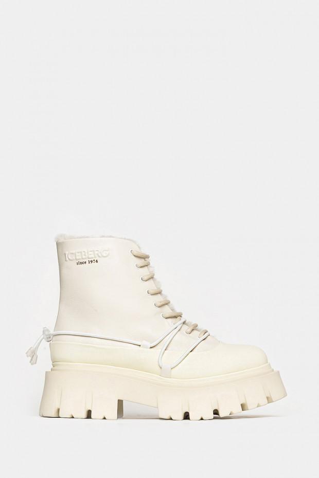 Жіночі черевики Iceberg білі - IC1857w