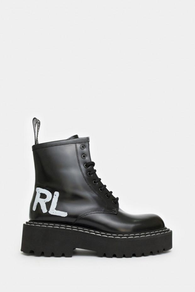 Жіночі черевики Karl Lagerfeld чорні - KL45260n