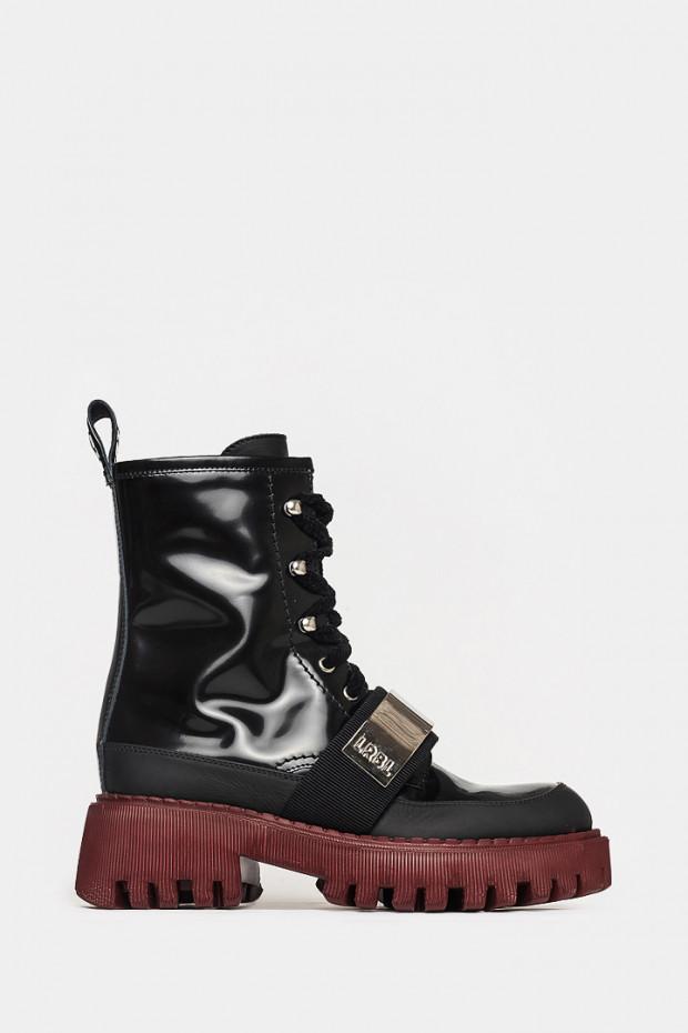 Жіночі черевики Loriblu чорні - LR5200