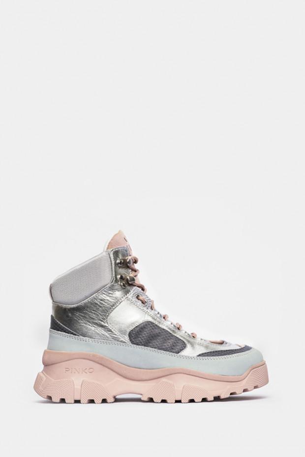 Кросівки Pinko срібло - P21_ii5