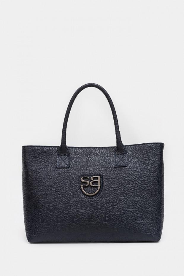 Жіноча сумка Sara Burglar темно-синя - SB075bl