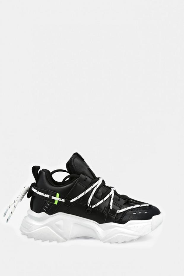 Кросівки Uma Parker чорні - UP340