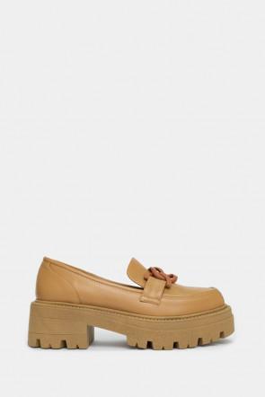 Жіночі туфлі Genuin Vivier бежеві - GV93552r