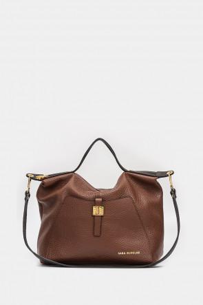 Жіноча сумка Sara Burglar коричнева - S1275r