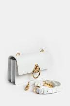 сумка пинко белая love bag